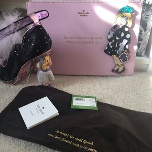 Kate Spade Miss Piggy Muppets Clutch Wristlet Bag
